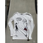 Top, Tee-shirt JUNIOR GAULTIER Blanc, blanc cassé, écru