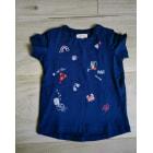 Top, tee shirt CATIMINI Bleu, bleu marine, bleu turquoise