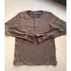 Tee-shirt SCOTCH & SODA Marron