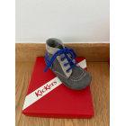Chaussures à lacets KICKERS Gris clair et bleucuor