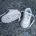 Baskets NIKE Blanc, blanc cassé, écru