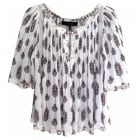 Top, tee-shirt ISABEL MARANT Blanc et motif