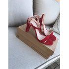 Sandales à talons UNISA Rouge, bordeaux