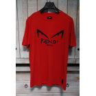 Tee-shirt FENDI Rouge, bordeaux