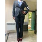 Tailleur pantalon ZARA Noir, gris