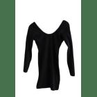 Robe courte AMERICAN APPAREL Noir