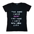 Top, Tee-shirt DKNY Noir