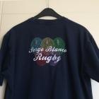 Tee-shirt SERGE BLANCO Bleu, bleu marine, bleu turquoise