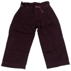 Pants BABY DIOR Prune