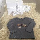 Top, Tee-shirt PAUL SMITH Gris, anthracite