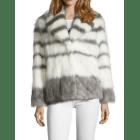 Manteau en fourrure IKKS Blanc, blanc cassé, écru