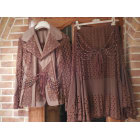 Tailleur jupe MULTIPLES Marron
