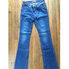 Pantalon évasé LEVI'S Bleu, bleu marine, bleu turquoise