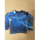 Sweat LITTLE ELEVEN PARIS Bleu, bleu marine, bleu turquoise