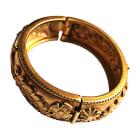 Bracelet LANVIN Doré, bronze, cuivre