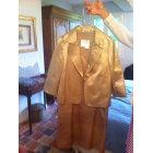 Tailleur robe MAX MARA Doré, bronze, cuivre