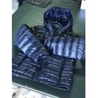 Doudoune LACOSTE Bleu, bleu marine, bleu turquoise
