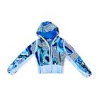 Blouson de ski EMILIO PUCCI Bleu, bleu marine, bleu turquoise