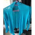 Gilet, cardigan POURQUOI PAS Bleu, bleu marine, bleu turquoise