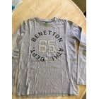Tee-shirt BENETTON Gris, anthracite