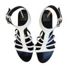 Sandales plates  GIVENCHY Blanc, blanc cassé, écru