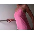 Top, tee-shirt TIBI Rose, fuschia, vieux rose