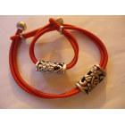 Parure bijoux LA TRIBU RIGAUX Orange