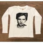 Top, Tee-shirt LITTLE ELEVEN PARIS Blanc, blanc cassé, écru