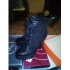 Bottines & low boots à talons JUSTFAB Noir