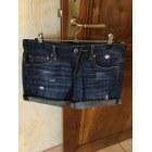 Short en jean AMERICAN EAGLE OUTFITTERS Bleu, bleu marine, bleu turquoise