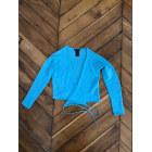 Gilet, cardigan ROBERTO COLLINA Bleu, bleu marine, bleu turquoise