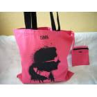 Stofftasche groß KARL LAGERFELD Pink,  altrosa