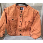 Blouson JEAN BOURGET Orange
