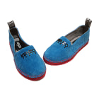 Espadrilles KENZO Bleu, bleu marine, bleu turquoise