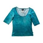 Blouse JUST CAVALLI Bleu, bleu marine, bleu turquoise