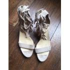 Sandales à talons ELIZABETH STUART Beige, camel