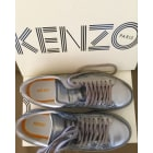 Baskets KENZO Gris, anthracite