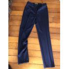 Pantalon slim, cigarette DIANA GALLESI Bleu, bleu marine, bleu turquoise