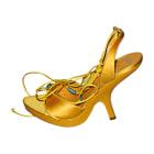 Sandales à talons DIOR Jaune