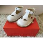 Chaussures à boucle KICKERS Blanc, blanc cassé, écru