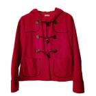 Manteau CACHAREL Rouge, bordeaux