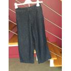 Jeans large, boyfriend COMPTOIR DES COTONNIERS Bleu, bleu marine, bleu turquoise