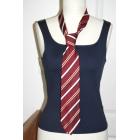 Cravate ST DUPONT Rouge, bordeaux
