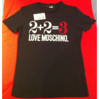 Tee-shirt LOVE MOSCHINO Noir