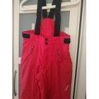 Pantalon de ski WED'ZE Rouge, bordeaux