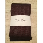 Collant CALVIN KLEIN Rouge, bordeaux