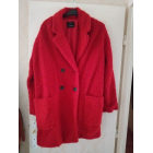 Manteau BERSHKA Rouge, bordeaux