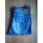 Jeans évasé, boot-cut SCHOOL RAG Bleu, bleu marine, bleu turquoise