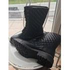 Bottines & low boots plates JUSTFAB Noir