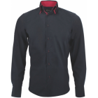 Chemise YVES ENZO Gris, anthracite